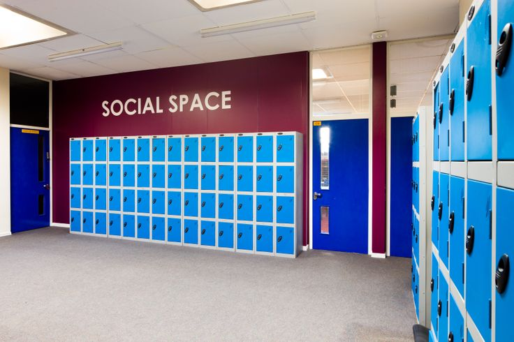School Education Lockers Storage