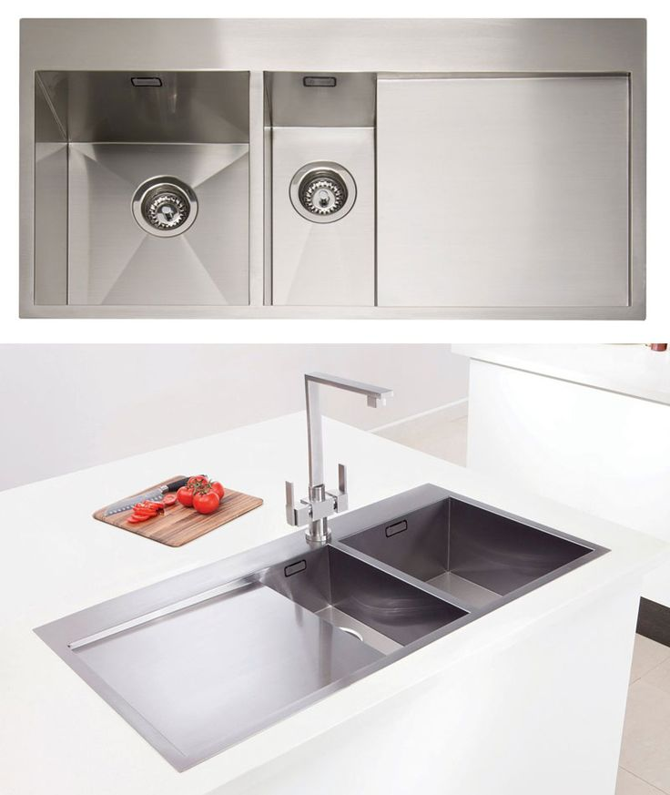 Caple Cubit 150 Geometric 1 5 Bowl Stainless Steel Kitchen Sink Http Www