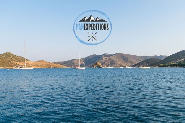 Your summer experience starts here!  #panexpeditions offers sea kayak trips around the majestic bay of Grikos. Choose between a full day Grikos tour or a Grikos bay sunset tour and explore the natural beauty of the area.   For more information, contact us or dial +2247032800.