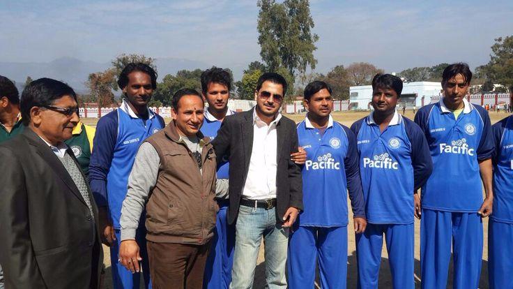 As a special guest doon premier league in dehradun.
