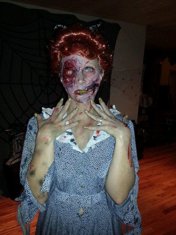halloween makeup latex prosthetics available at www.JaneDoeFX.com