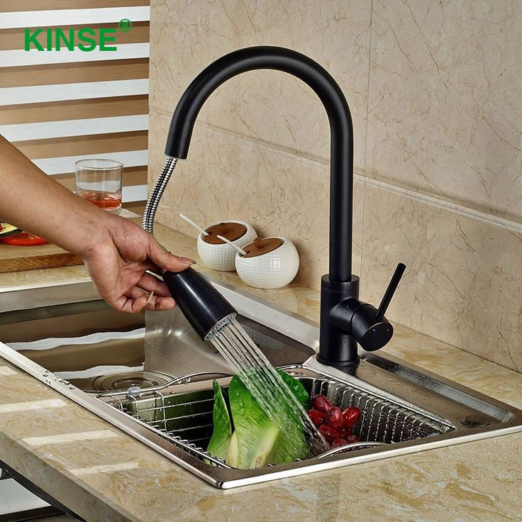 Reviews KINSE Brass Material Black Painting Kitchen Faucet Durable Mouth Pull Out Faucet Mixers Taps for Kitchen ♡ Shop KINSE Brass Material Black Painting Kitchen Faucet Deal  KINSE Brass Material Black Painting Kitchen Faucet Durable Mouth Pull   Data : http://shop.flowmaker.info/76tfQ    KINSE Brass Material Black Painting Kitchen Faucet Durable Mouth Pull Out Faucet Mixers Taps for KitchenYour like KINSE Brass Material Black Painting Kitchen Faucet Durable Mouth Pull Out Faucet Mixers…