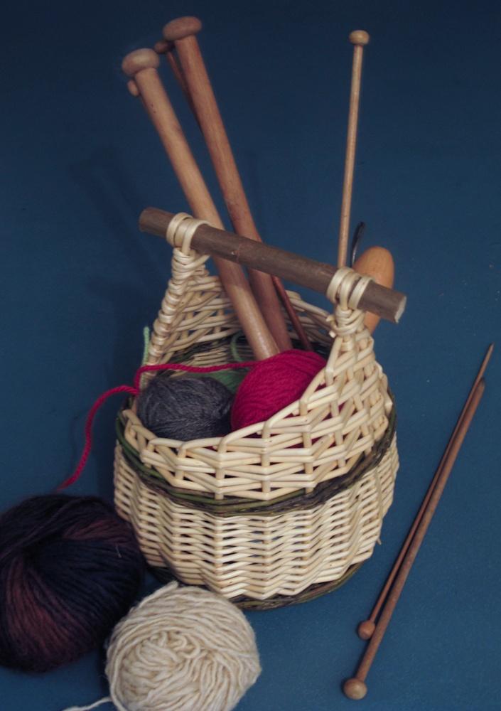 Košíček na pletení