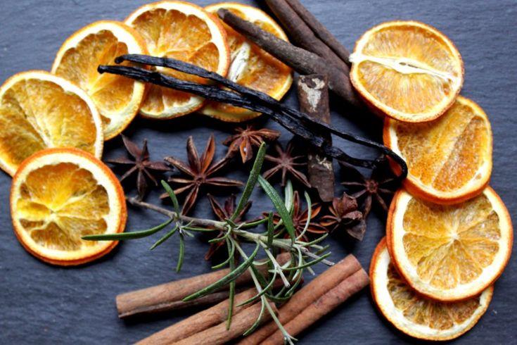 Weihnachtsduft ganz einfach selbst basteln aus Orangen, Nelken, Zimt, Vanille