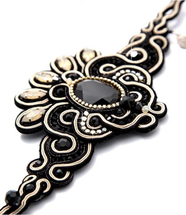 Ascot statement bracelet by Dori Csengeri #DoriCsengeri #statement #bracelet #jewelry