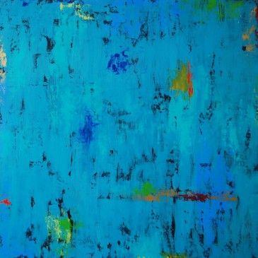 Dreams Of Love. Acrylic on Panel.36x36