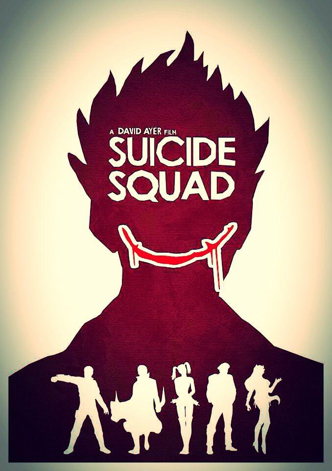 Suicide Squad movie fan poster art