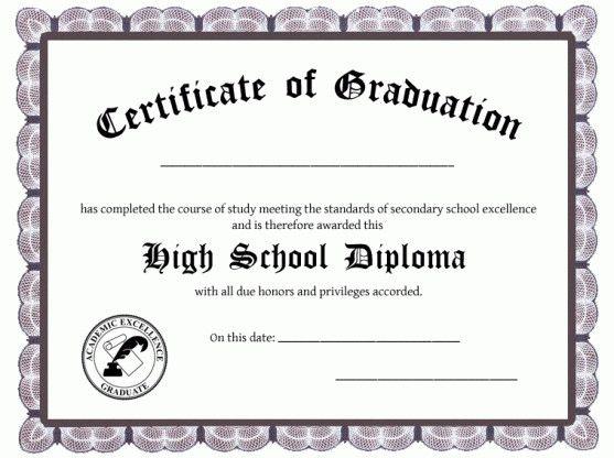 Diploma Template Free from i.pinimg.com