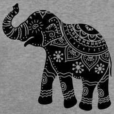 indian elephant art tattoo - Google Search