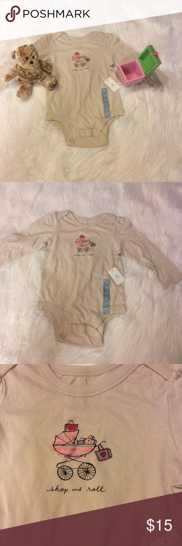 Baby Gap Shop N Roll Onesie Super adorable for your little shopper! GAP One Pieces Bodysuits