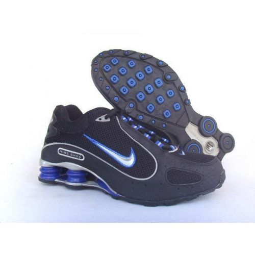 Nike Shox Monster Black Blue Men Shoes [NIKE_054] - $79.59 : Nike Free Run