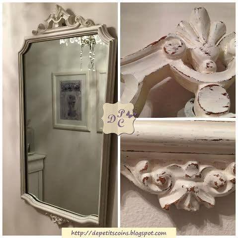 17 migliori idee su specchio shabby chic su pinterest - Specchio ovale shabby chic ...