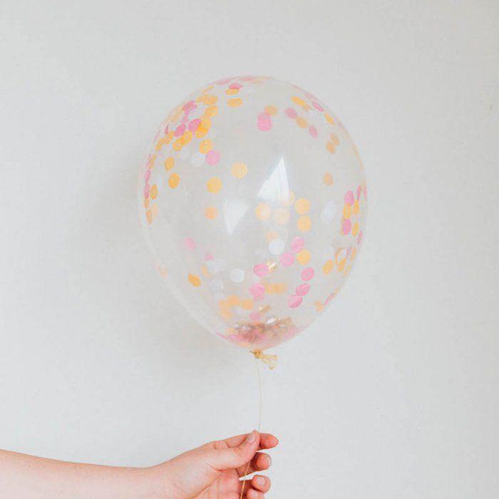 Le ballon confettis