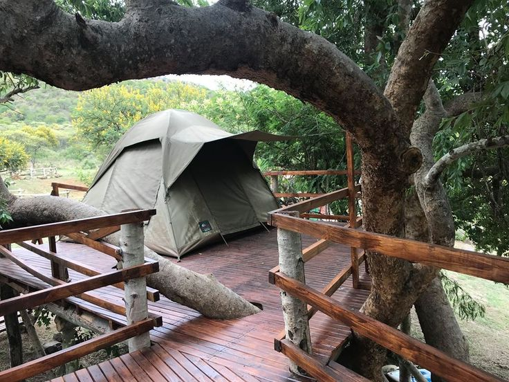 TreeHouse accommodation at Ron's Rest. Book now! info@blackleopardcamp.com or 0826929665