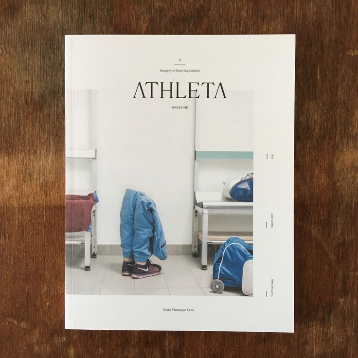 title: ATHLETA Magazine  subtitle: Imagery of Sporting Culture  language: English, Italian  publisher: Rise Up SRL  editorial office: Negrar, Italy  topics: Photography, sport  first edition & publication frequency: March 2017, biannual  copy price:...