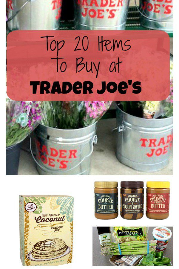 Trader Joe's is the type of store you walk up and down each aisle in so you don't miss a thing. Here are our top 20 favorite Trader Joe's items.