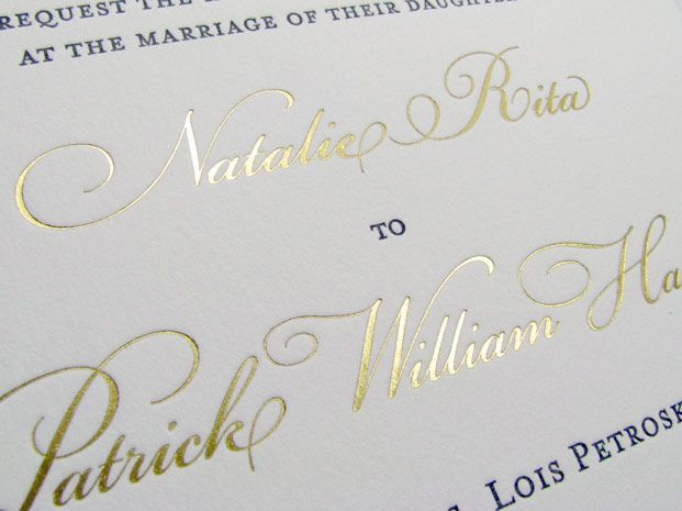 Gold Foil Stamped Wedding Invitations: 1000+ Images About Gold Ink Vs. Gold Foil On Pinterest