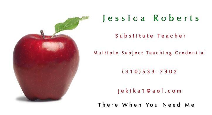 substitute teacher business cards business card printing zazzle ca