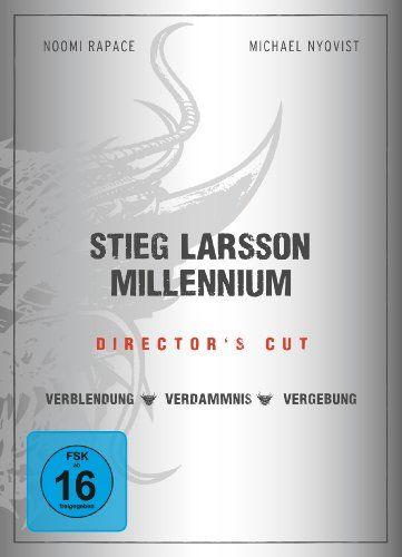 Stieg Larsson - Millennium Trilogie Director's Cut 3 DVDs: Amazon.de: Noomi Rapace, Michael Nyqvist, Lena Endre, Stieg Larsson, Niels Arden ...