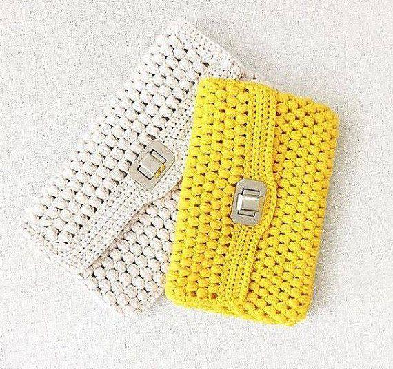 crochet purse handmade bag gift ideassummer by TinasHandicraftGr
