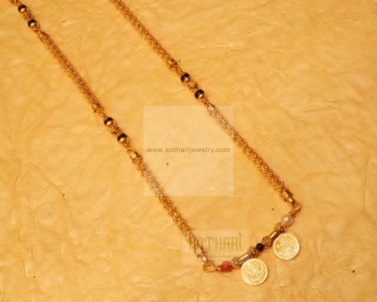Mangalsutra / Nallapusalu - Gold Jewellery Mangalsutra / Nallapusalu…