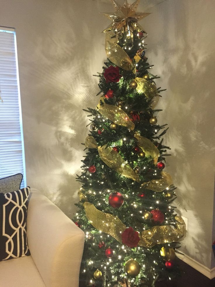 Beauty And The Beast Themed Christmas Tree Home Decor