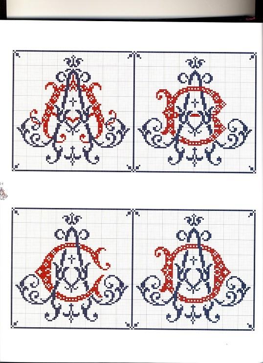1000  images about borduren  letters en cijfers on pinterest