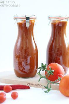 Coco's Tomaten Ketchup - da kann der Heinz einpacken