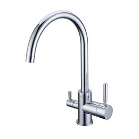 Three Way Kitchen Mixer Faucet Pure Water Filter T3306