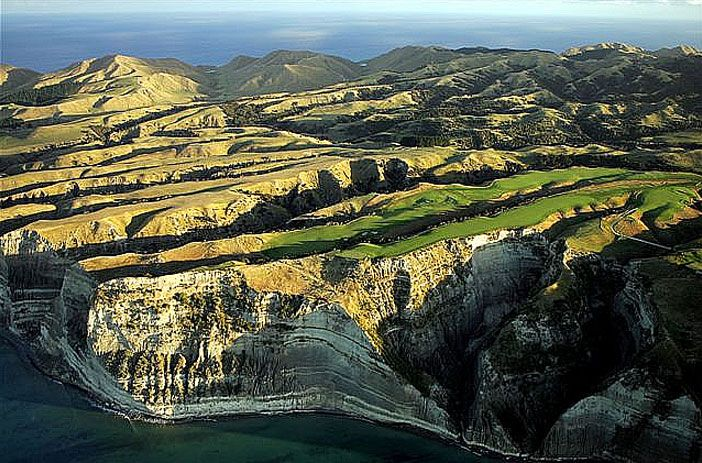 Book a tee time at one of the world's best golf courses at our Cape Kidnappers Golf Course!