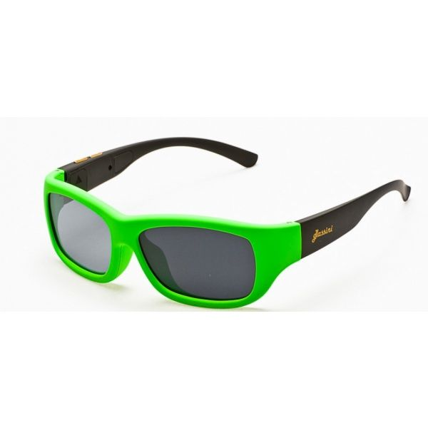 #Okulary ze sterowanym zaciemnieniem:: przeciwsłoneczne z polaryzacją #Glassini Aruba Green/Black