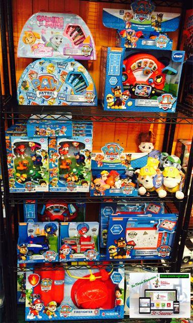 Jeux, Jouets et Peluches de la Pat Patrouille #patpatrouille dans la Boutique de St-Sauveur #stsauveur 450-240-0007 info@laboiteasurprises.ca Paw Patrol perfect gift!