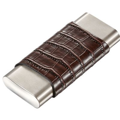 Visol Products Hacienda 3 Finger Cigar Case