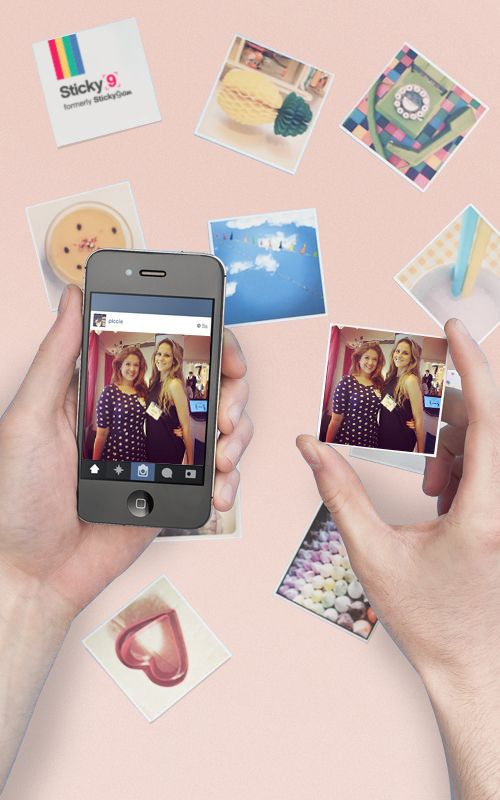 This website turns your Instagrams into cute little magnets! Spring sale now on.