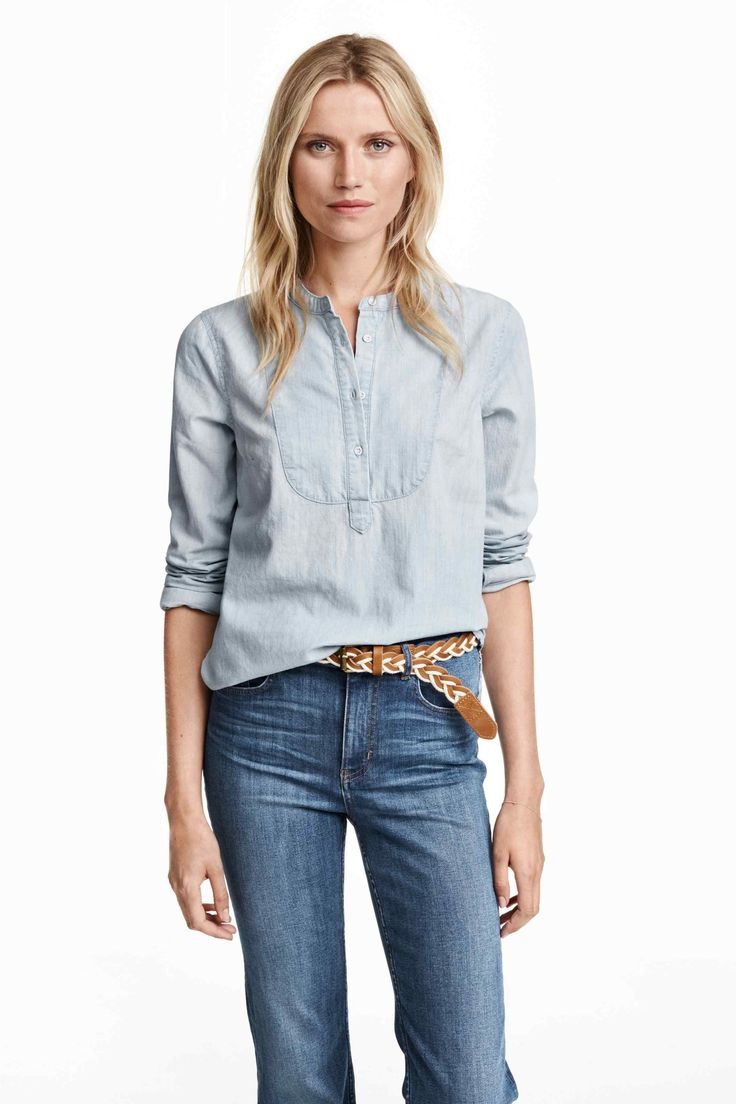 Blouse en denim | H&M