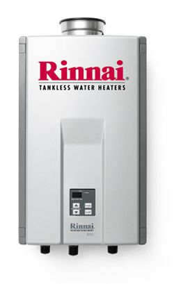 Rinnai Tankless Water Heaters heat water on demand, reducing energy costs up to 40% over a conventional tank-style water heater. They supply endless streams of clean, hot water to multiple appliances simultaneously, without any fluctuation in temperature. Never run out of hot water again! Save energy, save money!