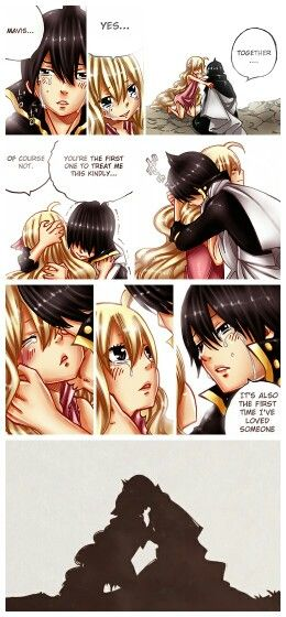 Fairy Tail | Chapter 450 | Zervis | SPOILER!! | NOW EVERYTHING MAKES SENSE. | ...I CAN'T BELIEVE THEY KISSED!! *-* | But than...WHY DOES SHE DIE?! :'(