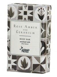 Rose Amber & Geranium Soap