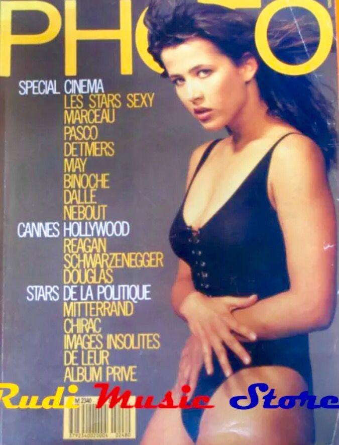 Sophie Marceau covers Photo magazine ( France) 1988 ...