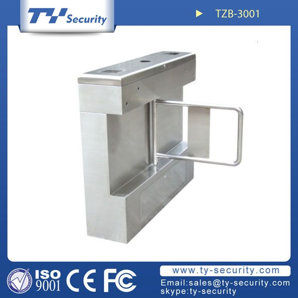 Security Pedestrian Turnstile Gate TZB-3001