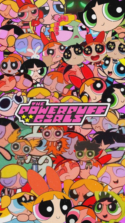 wallpaper aesthetic powerpuff girls em 2020 | Wallpapers ...