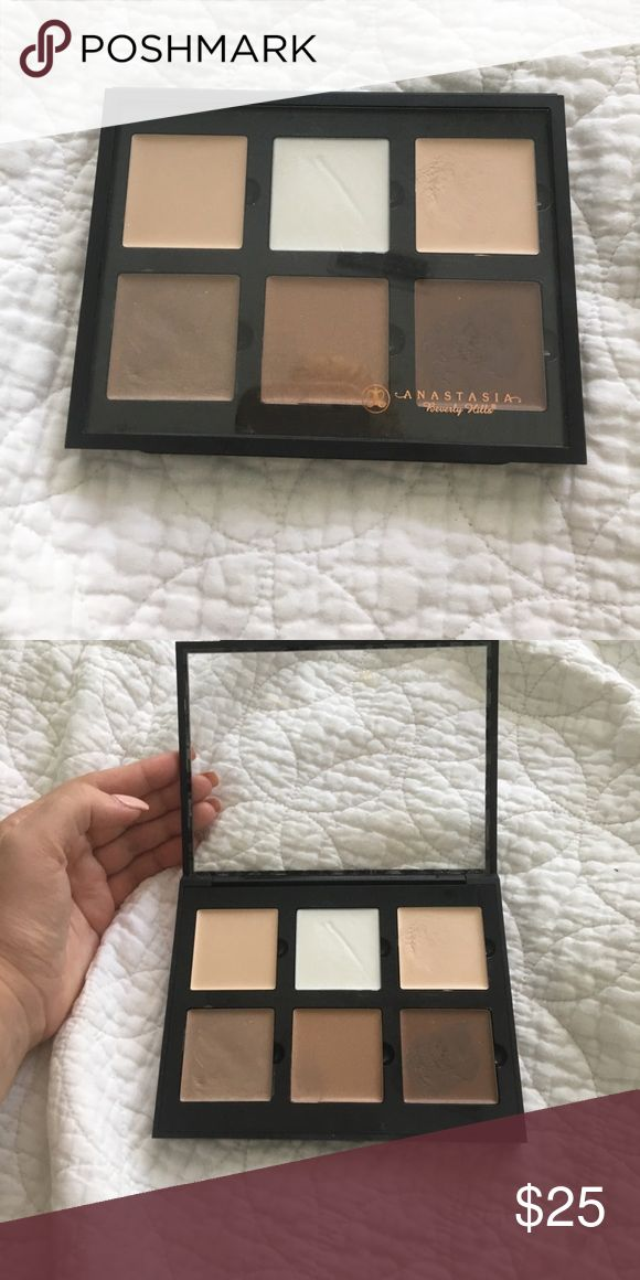 ABH cream contour Some shades used a few times. Anastasia Beverly Hills Makeup Concealer