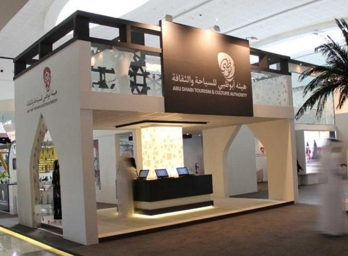 Exhibition Stand Design Abu Dhabi : Abu dhabi tourism and culture authority s double storey