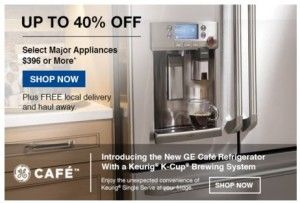 Lowe's Appliance Sale 40% Off!