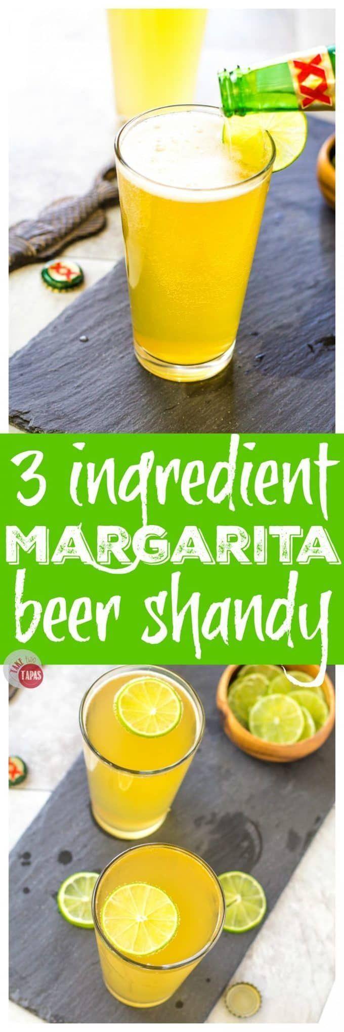 Margarita Beer Shandy with 3 Ingredients   Take Two Tapas