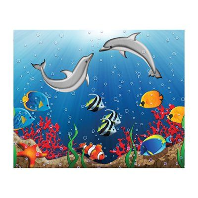 JP London MD3084 Bubble Buddies Nursery Removable Full Wall Wallpaper Mural