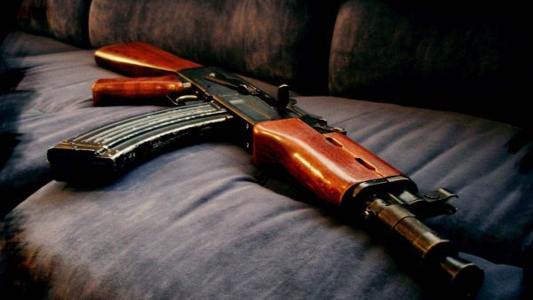 A beautiful picture of #Automatic_gun #AK_101 #guns downloaded from http://alliswall.com