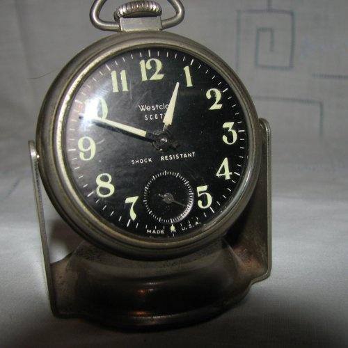 Classic Car Clock Westclox