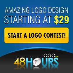 Get your logo designed by professionals in 48 hours. Pricing starts at $29. #logodesign #48hourslogo #startups