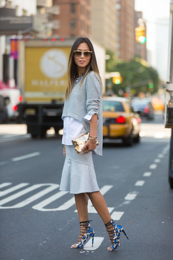 #NYFW Street Style Day 1 (Photo courtesy: Melodie Jeng/HPMG)